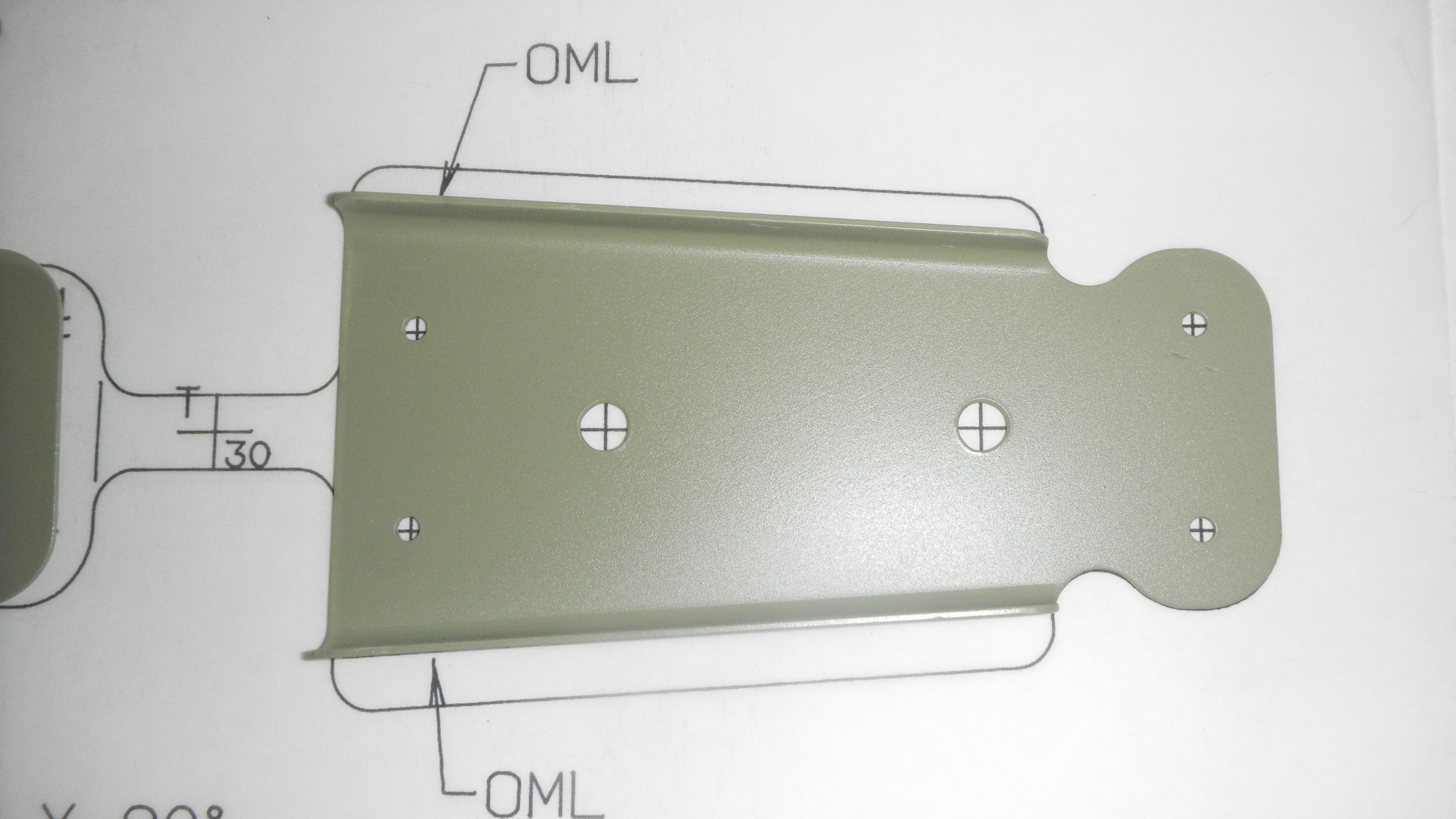 Trinity Aerocanada Sheet Metal Hand Formed Parts